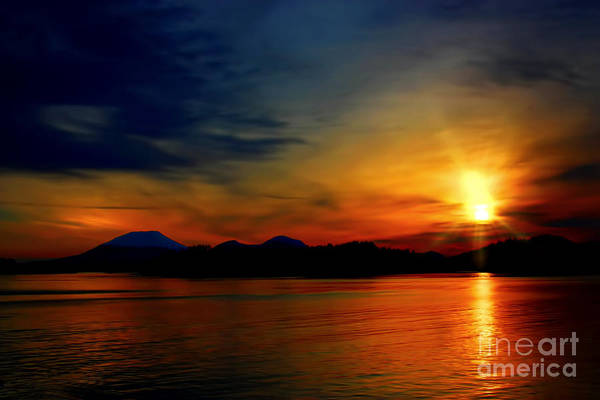 Wall Art - Photograph - An Alaskan Sunset by Scarlett Images Photography