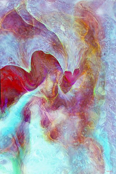 Wall Art - Digital Art - An Angels Love by Linda Sannuti