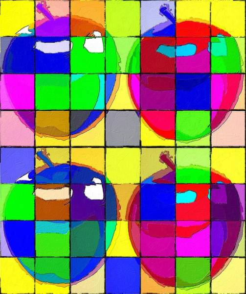 Painting - An Apple A Day by Florian Rodarte