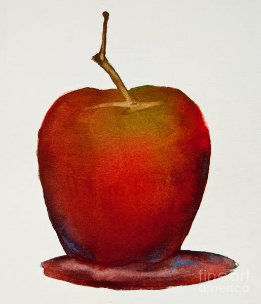 Painting - An Apple A Day by Jani Freimann