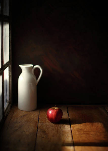 Pitcher Photograph - An Apple by Luiz Laercio