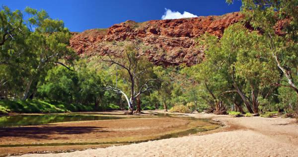 Photograph - An Australian Outback River by Paul Svensen