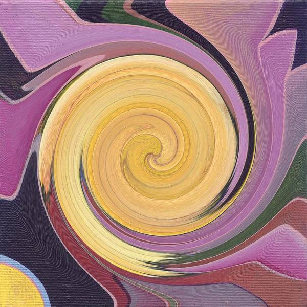 Painting - An Autumn Swirl by Helena Tiainen