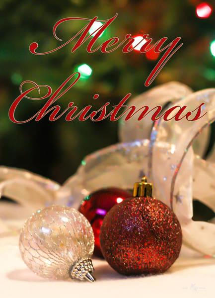 Wall Art - Photograph - An Elegant Merry Christmas  by Mechala Matthews
