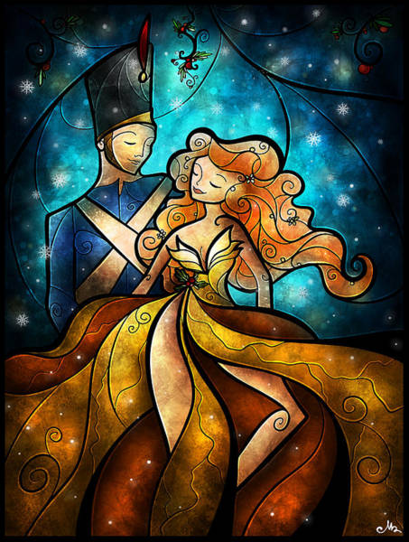 Digital Art - An Enchanting Evening by Mandie Manzano