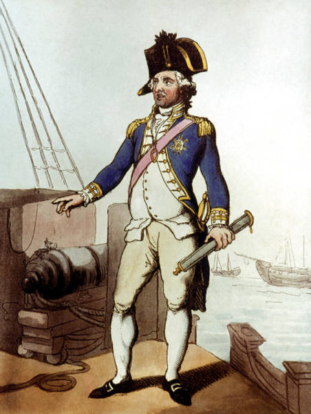 Wall Art - Painting - An English Admiral, 1799 by Granger