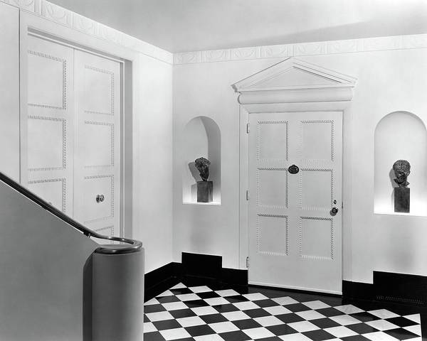 Home Accessories Photograph - An Entrance Hall by Peter Nyholm