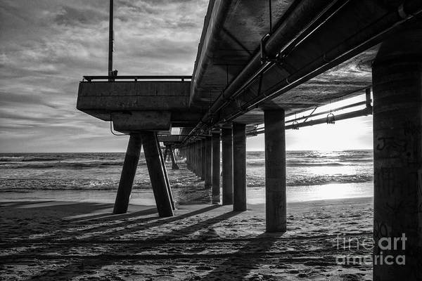 Photograph - An Evening At Venice Beach Pier by Ana V Ramirez