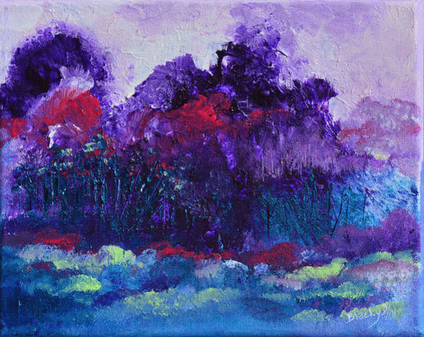 Wall Art - Painting - An Evening In Spring by Donna Blackhall