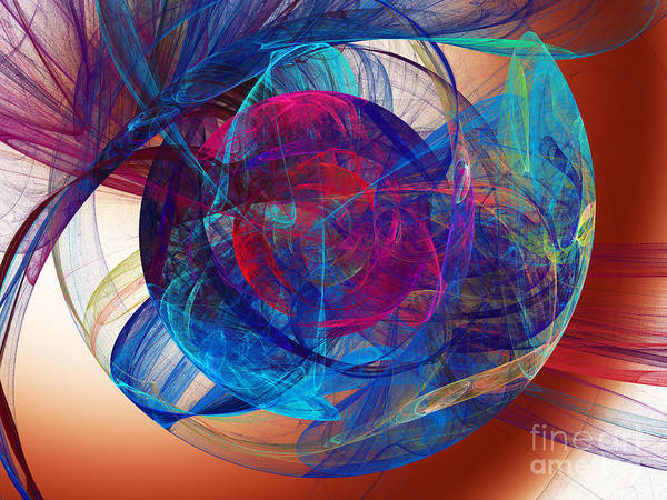 Digital Art - An Eye To The Soul by Andee Design