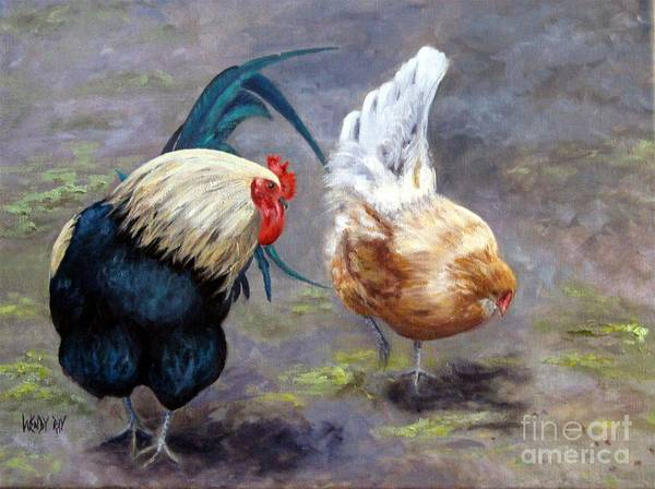 Painting - An Interesting Find by Wendy Ray