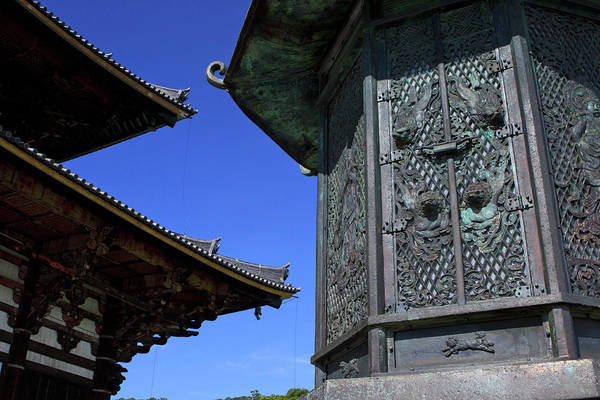Kansai Wall Art - Photograph - An Intricate Metal Lantern by Paul Dymond