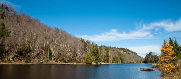 Photograph - An October Day On Bald Mountain Pond by David Patterson