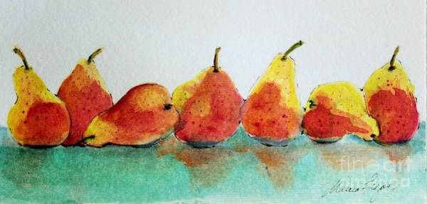 Painting - An Odd Pear by Marcia Breznay