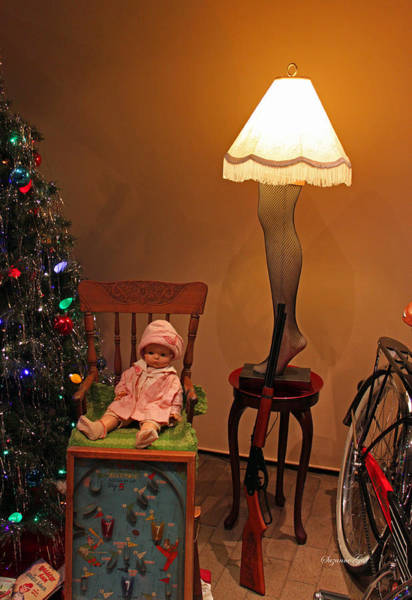 Seasonal Wall Art - Photograph - An Old Fashioned Christmas - A Christmas Story by Suzanne Gaff