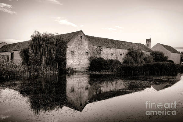 Fortified Wall Art - Photograph - An Old Fortified Farm by Olivier Le Queinec