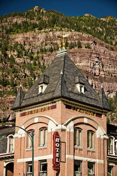 Wall Art - Photograph - An Old Hotel In Ouray, Colorado by Rob Hammer