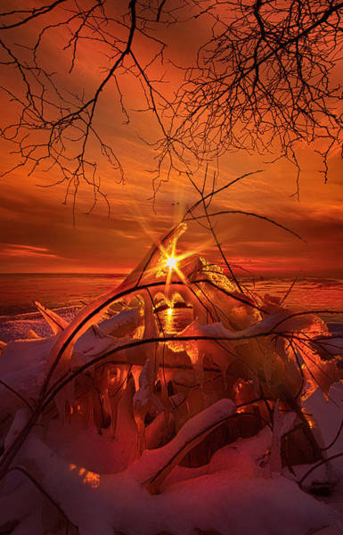 Icicles Wall Art - Photograph - An Old Peaceful Tale by Phil Koch