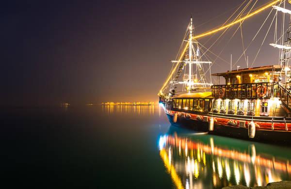Photograph - an Old Pirate Ship by Sotiris Filippou