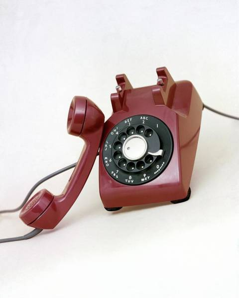 Copy Photograph - An Old Telephone by Richard Rutledge
