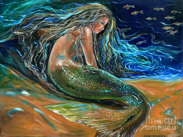 An Undersea Repose Art Print