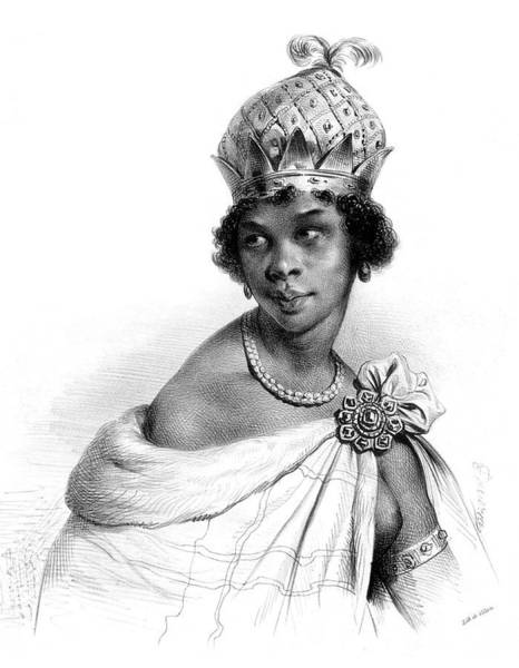 Wall Art - Photograph - Ana Nzinga, Angolan Queen by Science Source