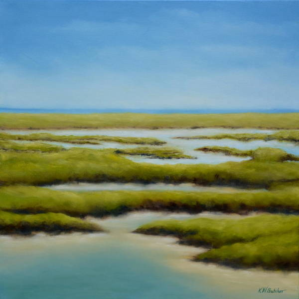 Wall Art - Painting - Anahuac Afternoon by Karen Butcher