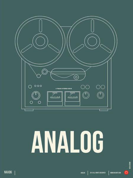 Comical Digital Art - Analog Poster by Naxart Studio