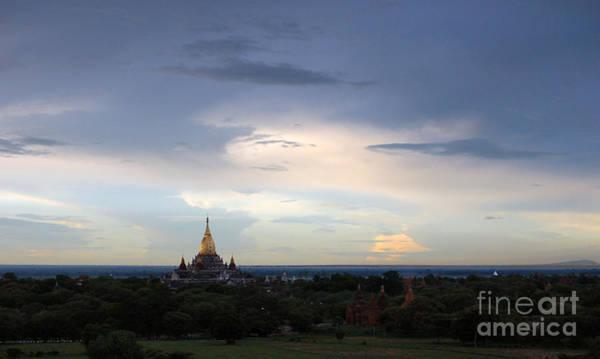 Photograph - Ananda Buddhist Temple And Pagodas by RicardMN Photography