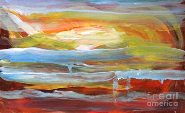Painting - Anarchist Sunset  by Anne Cameron Cutri