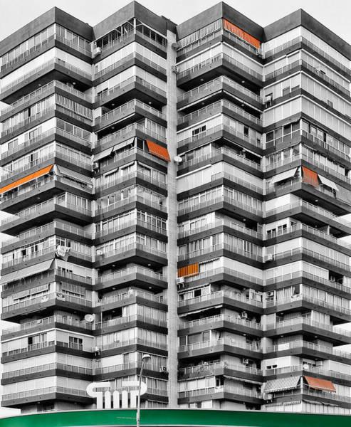 Benidorm Wall Art - Photograph - Anarchitecture Viii by Pedro Fernandez