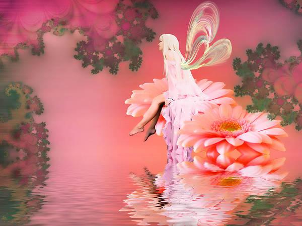 Lagoon Digital Art - Anastasia by Sharon Lisa Clarke
