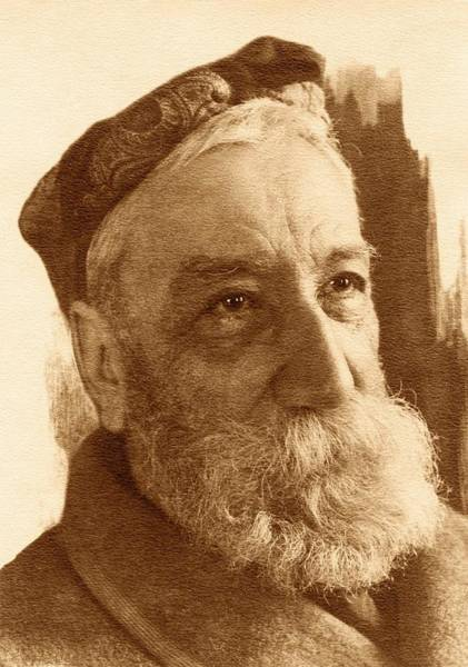 Human Head Photograph - Anatole France by American Philosophical Society
