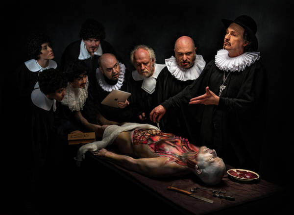 Joke Wall Art - Photograph - Anatomy Lesson II by
