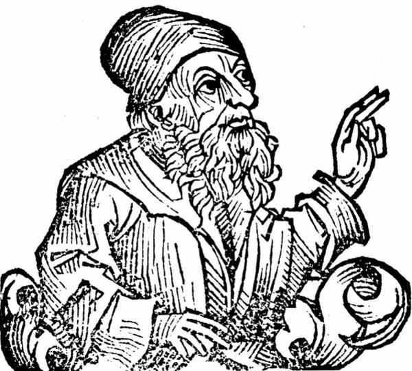 Woodcut Photograph - Anaxagoras by Universal History Archive/uig