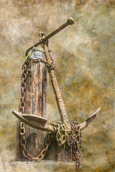Wall Art - Photograph - Anchor by Angie Vogel