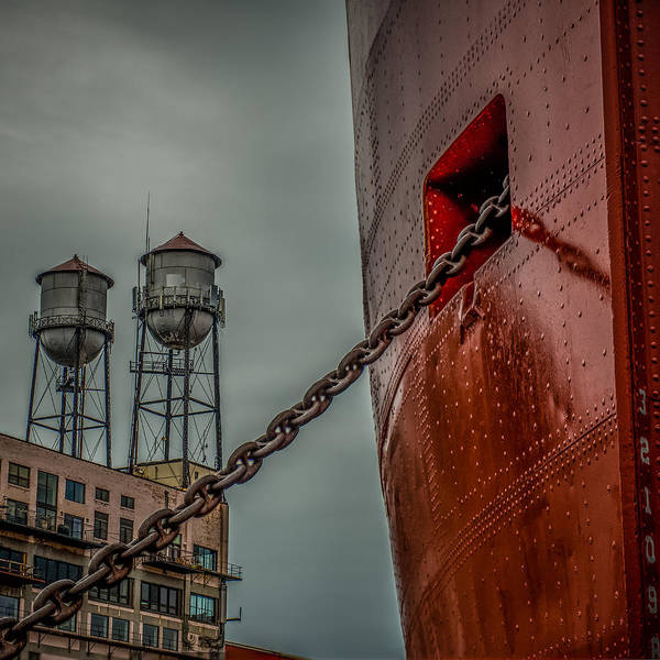 Cargo Containers Wall Art - Photograph - Anchor Chain by Paul Freidlund