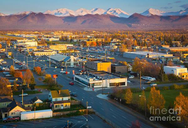 Alaskan Photograph - Anchorage Autumn by Inge Johnsson