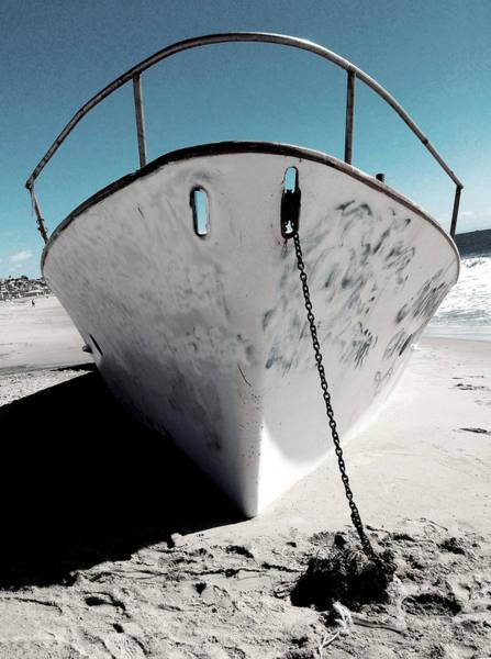 Photograph - Anchored Ashore by Lorraine Devon Wilke
