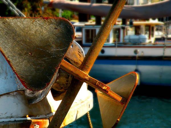 Photograph - Anchors Away by Micki Findlay