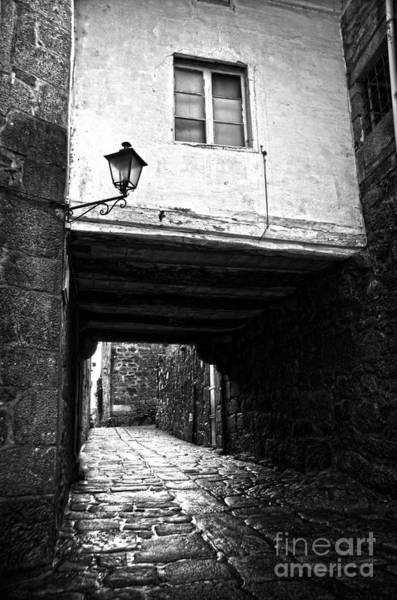Photograph - Ancient Alley In Tui Bw by RicardMN Photography