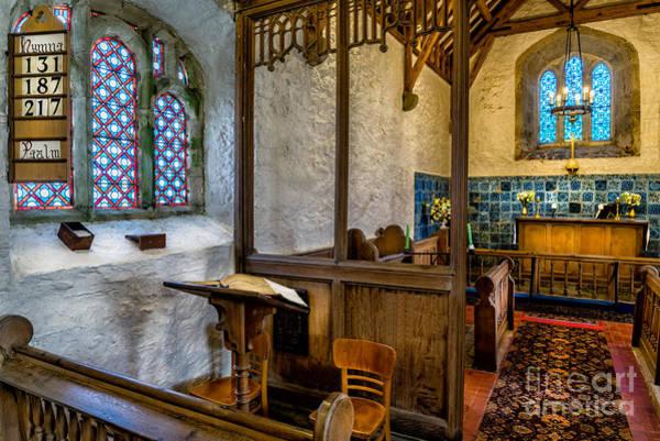 Wooden Church Wall Art - Photograph - Ancient Chapel 2 by Adrian Evans