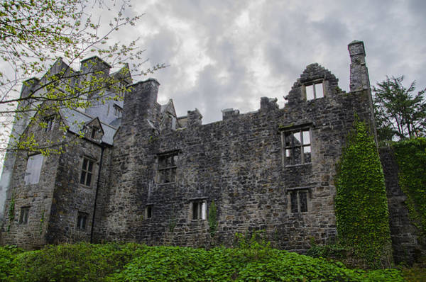 Donegal Digital Art - Ancient Donegal Castle by Bill Cannon