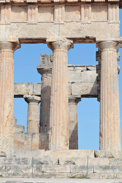 Photograph - Ancient Doric Columns by Paul Cowan