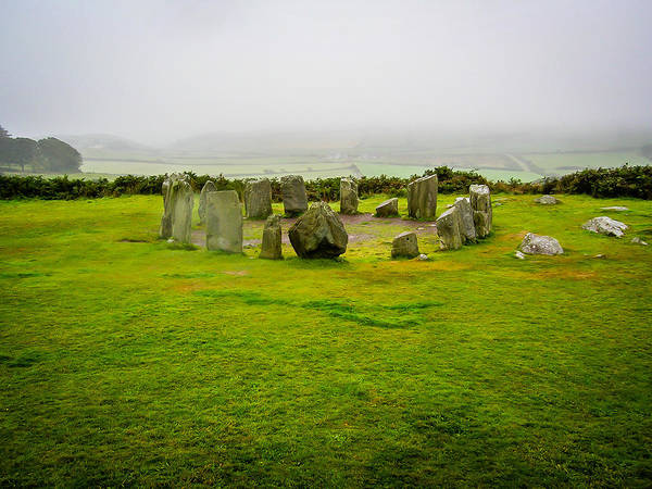 Photograph - Ancient Drombeg Stone Circle In Ireland's County Cork by James Truett