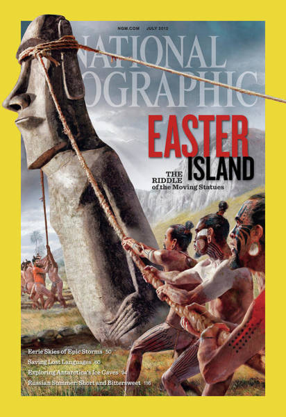 Wall Art - Photograph - Ancient Easter Islanders Used Ropes by Fernando G. Baptista