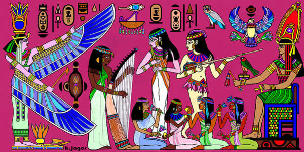 Ancient Egypt Splendor Art Print