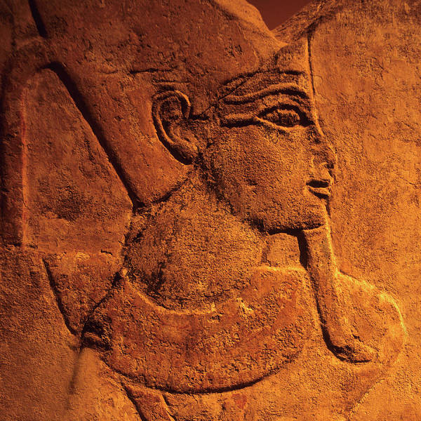 Stone Carving Wall Art - Photograph - Ancient Egyptian Carving, Temple Of by Hisham Ibrahim
