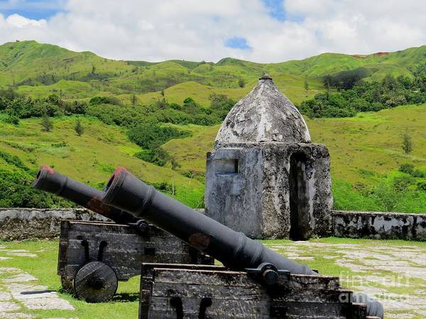 Mount Soledad Wall Art - Photograph - Ancient Fortification At Umatac Guam by Scott Cameron