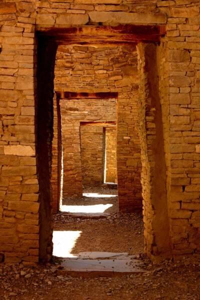 Chaco Canyon Wall Art - Photograph - Ancient Galleries by Joe Kozlowski